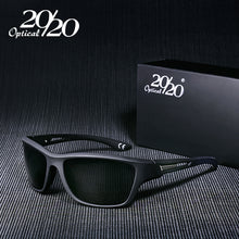 20/20 Brand Classic Men Sunglasses Polarized Square Male Glasses Shade Driving Eyewear Sun Glasses For Men Oculos Gafas PL64 - Clucco