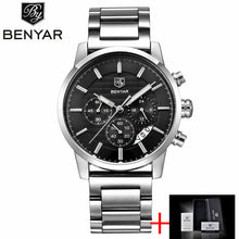Reloj Hombre 2017 BENYAR Fashion Chronograph Sport Mens Watches Top Brand Luxury Military Quartz Watch Clock Relogio Masculino - Clucco