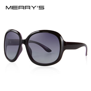 MERRY'S DESIGN Women Retro Polarized Sunglasses Lady Driving Sun Glasses 100% UV Protection S'6036 - Clucco