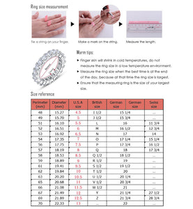 Infinity Ring with 36 Pieces Micro Paved CZ Fashion Women Silver Color Rings Wholesale OR66 - Clucco