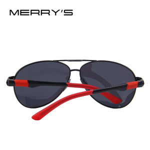 MERRY'S Men Brand Sunglasses HD Polarized Glasses Men Brand Polarized Sunglasses High quality With Original Case - Clucco
