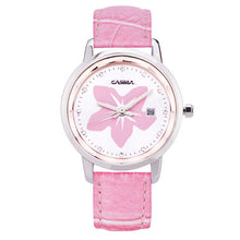 CASIMA luxury brand watches women fashion beauty crystal table casual female quartz wrist watch leather band waterproof #2601 - Clucco