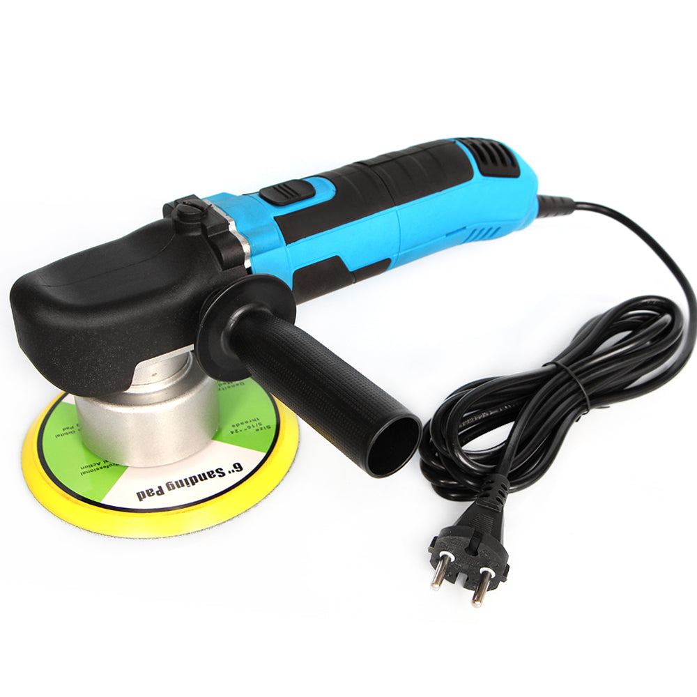 Dual Action Polishing Machine Car Polisher Electric 220V 50Hz Input Power 680w GS CE EMC Backing Plate size 150mm Polishing Pad - Clucco