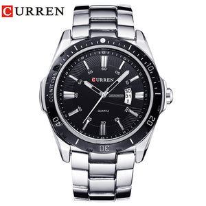 NEW curren  watches men Top Brand fashion watch quartz watch male relogio masculino men Army  sports Analog Casual  8110 - Clucco