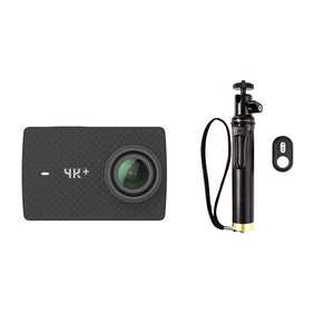 "YI 4K+(Plus) Action Camera Set International Edition FIRST 4K/60fps Amba H2 SOC Cortex-A53 IMX377 12MP CMOS 2.2""LDC RAM EIS WIFI - Clucco"