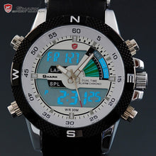 Porbeagle SHARK Sport Watch Men Outdoor Fashion Digital Multifunction Day Stopwatch Waterproof Silicone Relogio Masculino /SH041 - Clucco