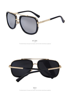 MERRY'S Fashion Men Sunglasses Classic Women Brand Designer Metal Square Sun glasses UV400 - Clucco