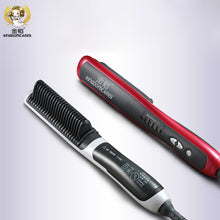 Electric Ceramic hair straightener brush Hair Care Styling tool hair Straightening Comb Auto Massager Irons Fast Heating Brushes - Clucco