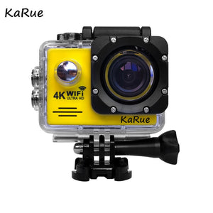 Action Camera 4K Ultra HD WIFI gopro hero 4 Stlye 1080P/30fps 2.0 LCD 170 Lens Diving Waterproof 30M DV Helmet Cam Sports Camera - Clucco