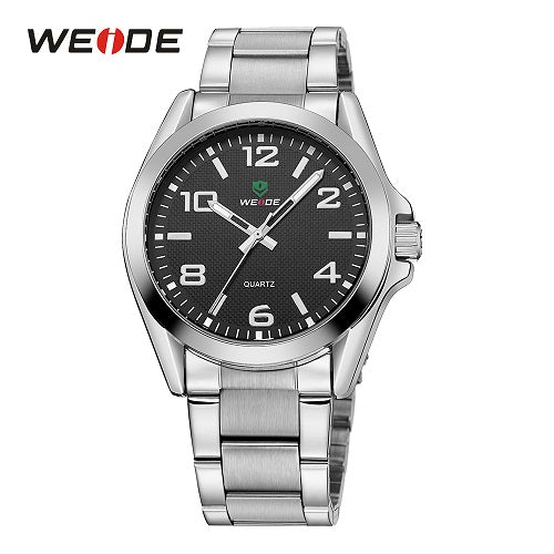 WEIDE Men Sports Watch Business Casual Analog Date Quartz Stainless Steel Strap Wrist watches Relogio Masculino Clock Horloges - Clucco