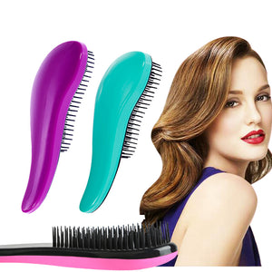 Professional 6 Colors Exquite Cute Useful Comb Salon Styling Hair Brush Detangling Combs Hair Styling Tool - Clucco