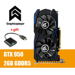 Graphics Card PCI-E GTX 950 2GB DDR5 128Bit Placa de Video carte graphique Video Card for Nvidia - Clucco