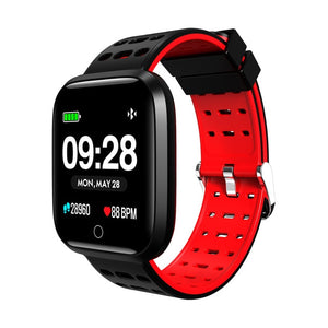 LEMFO Professional Sport Smart Watch Life Waterproof 2.5D Full Color Screen Heart Rate Monitoring Fitness Bracelet For Men - Clucco