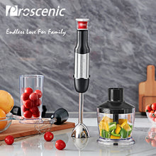 Proscenic Hand Blender Portable Electric Stick Mixer Smart Speed Food Processor Set BPA free Handheld Stick Blender Mixer 800W