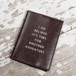 Another Adventure Genuine Leather Passport Cover