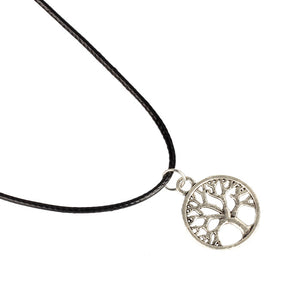 Tree of Life Pendant Choker Necklace
