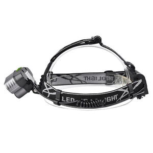 T6 LED Rechargeable USB Headlamp Head Sport Light