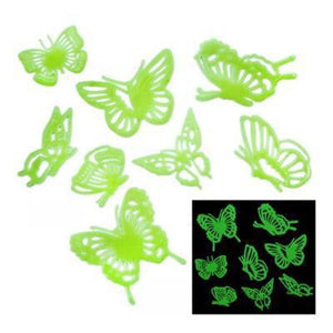 Plastic Glow in the Dark Butterflies