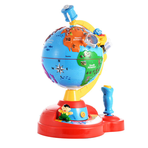 Globe Study Game - Electronic Learning Toy