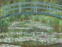 The Japanese Footbridge by Claude Monet 18x24 Poster