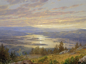 Lake Squam from Red Hill by William Trost Richards 18x24 Poster