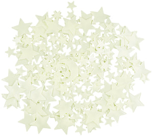 Ultra Glow in the Dark Stars 100 Count Bonus Moon