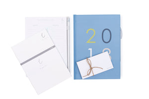 2018 OTi Organiser Big Numbers + Shopping List Pad + Notes Booklets + Sticky Notes