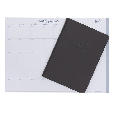 2020 OTi Planner (Grey) + Monthly Planner