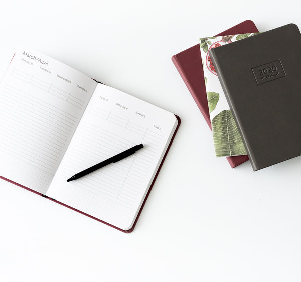 2020 OTi Planner (Wine) + Meal Planner + Monthly Planner