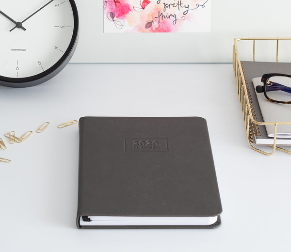 2020 OTi Planner (Grey) + Meal Planner + Monthly Planner