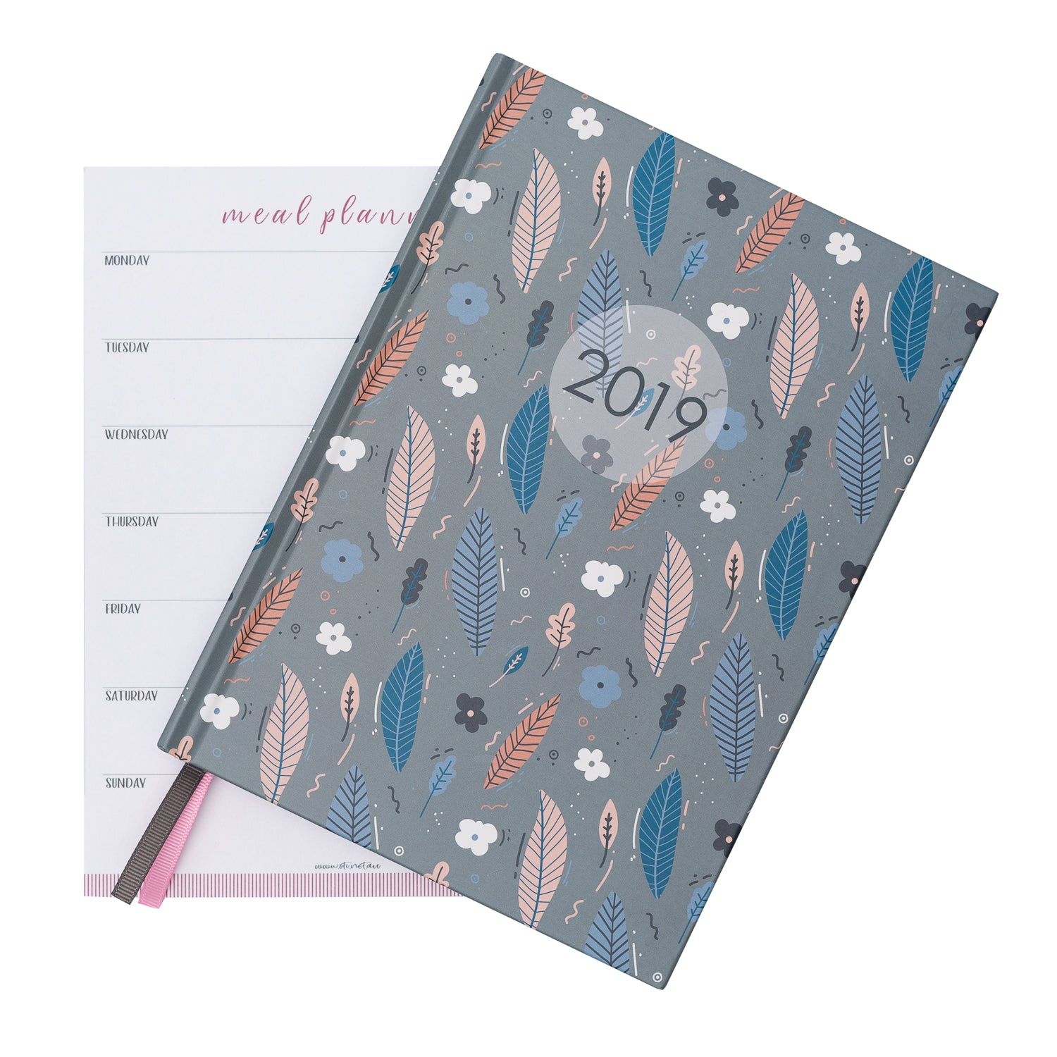 2019 OTi Organiser Leaves + Meal Planner