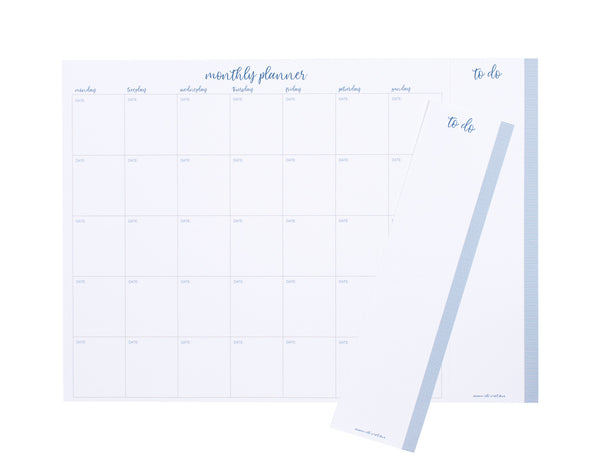 2019 OTi Organiser Leaves + Meal Planner + Monthly Planner