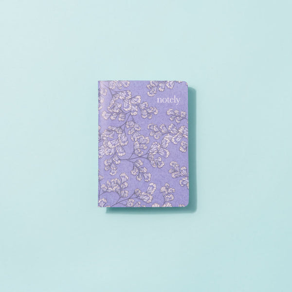 Fern Fancy A6 Notebooks (set of 2) - by Notely