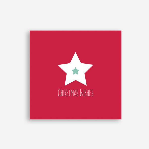 Christmas Wishes Card (small) - by Sprout and Sparrow