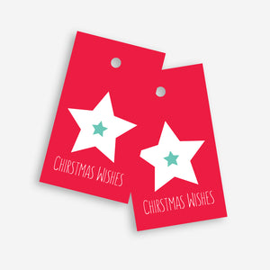 Christmas Wishes Gift Tag - by Sprout and Sparrow