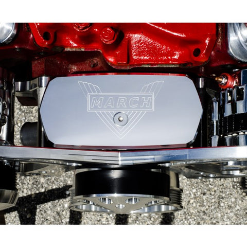 March Performance 224 Chevy Small Block Short Water Pump Cover
