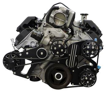 All American Billet Mopar 5.7 6.1 Hemi Serpentine Kit