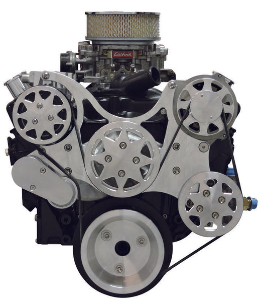Small Block Chevy All-American Serpentine Kit