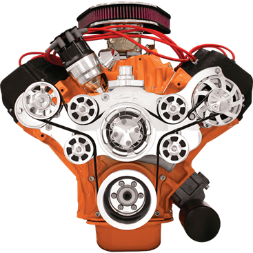 Chrysler Big Block | HEMI Tru Trac Serpentine Kit