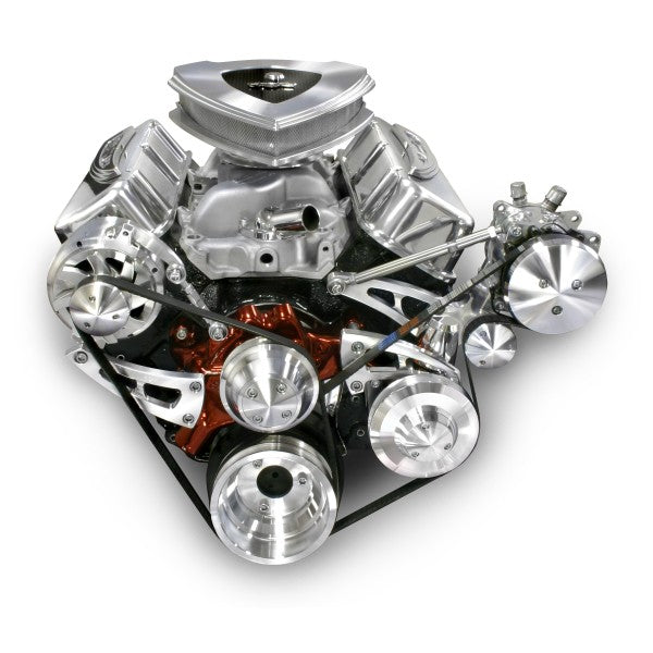 March Performance Chevy Big Block Ultra Mid Mount Serpentine Kit