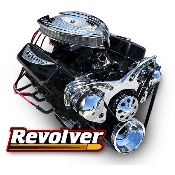 March Performance Chevy Small Block Revolver Serpentine Drive Kit