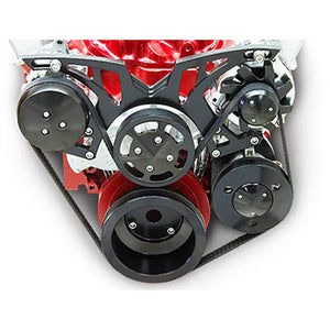 March Performance Chevy LS Custom Pro Track Serpentine Drive Kit