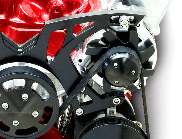 March Performance Chevy LS Style Track Serpentine Drive Kit