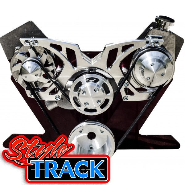 Big Block Chevy Style Track Serpentine Kit