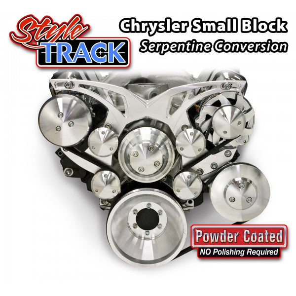 March Performance Chrysler Small Block 318 340 360 Style Track Serpentine Kit