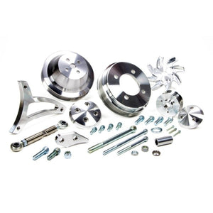 SBF 351W Traditional Mount Kit - Billet Kings