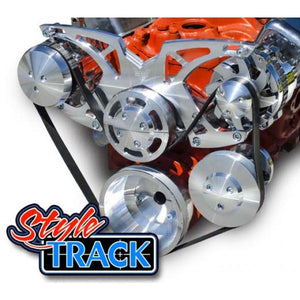 March Performance Chevy Small Block Style Track Serpentine Drive Kit
