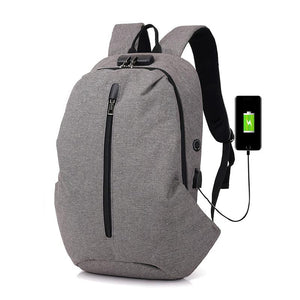 2018 Anti-theft women and men Laptop Backpack High quality canvas Casual Men  Women Backpack aa71a8bb083a8