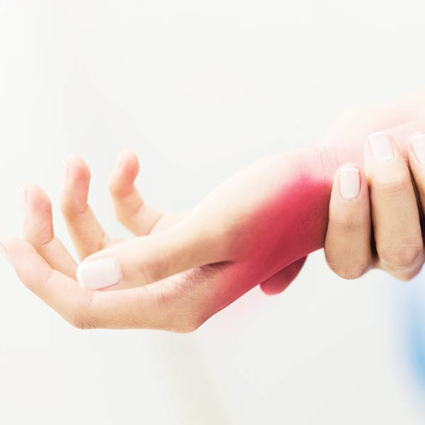 If pain persists, your wrist pain may be due to an injury.