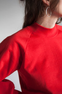 SIGRID Mockneck Sweater - Red